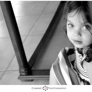 One of the first black and whites I took, of my daughter